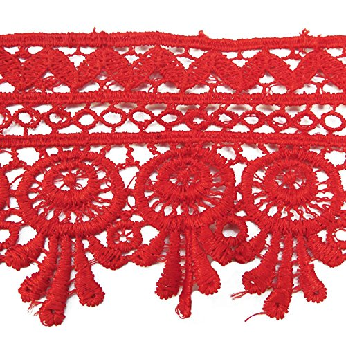 Red Lace Trim - 5