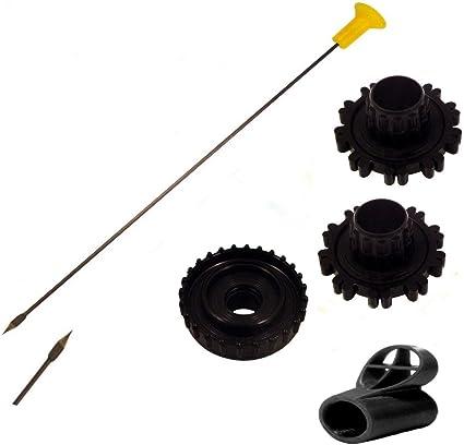Quivers and Peep by Venom Blowguns® 50 .40c Pro-Length Broadhead Blowgun Darts
