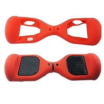 180 Protección Hoverboard Cubierta del caso, Silicona Scratch Protector para 6.5 pulgadas 2 ruedas Self Balancing Scooter Scooter eléctrico