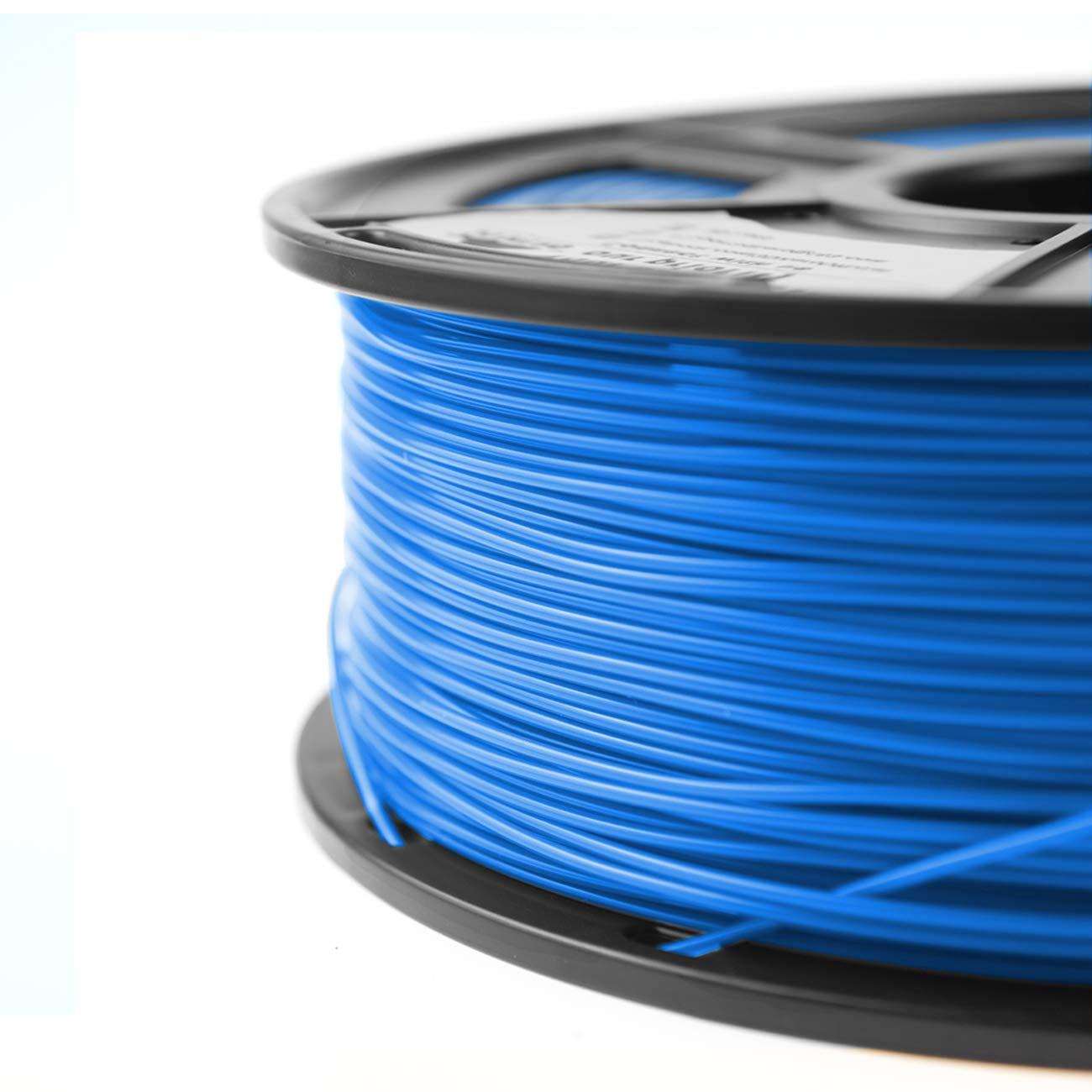 ,1.75mm Filament Bonus with 5M PCL Nozzle Cleaning Filament 1KG Dimensional Accuracy +//- 0.02 mm 2.2 LBS PLA Filament Black 3D Hero PLA Filament 1.75mm,PLA 3D Printer Filament