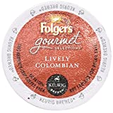 FOLGERS COFFEE GOURMET LIVELY COLUMBIAN 12 CT