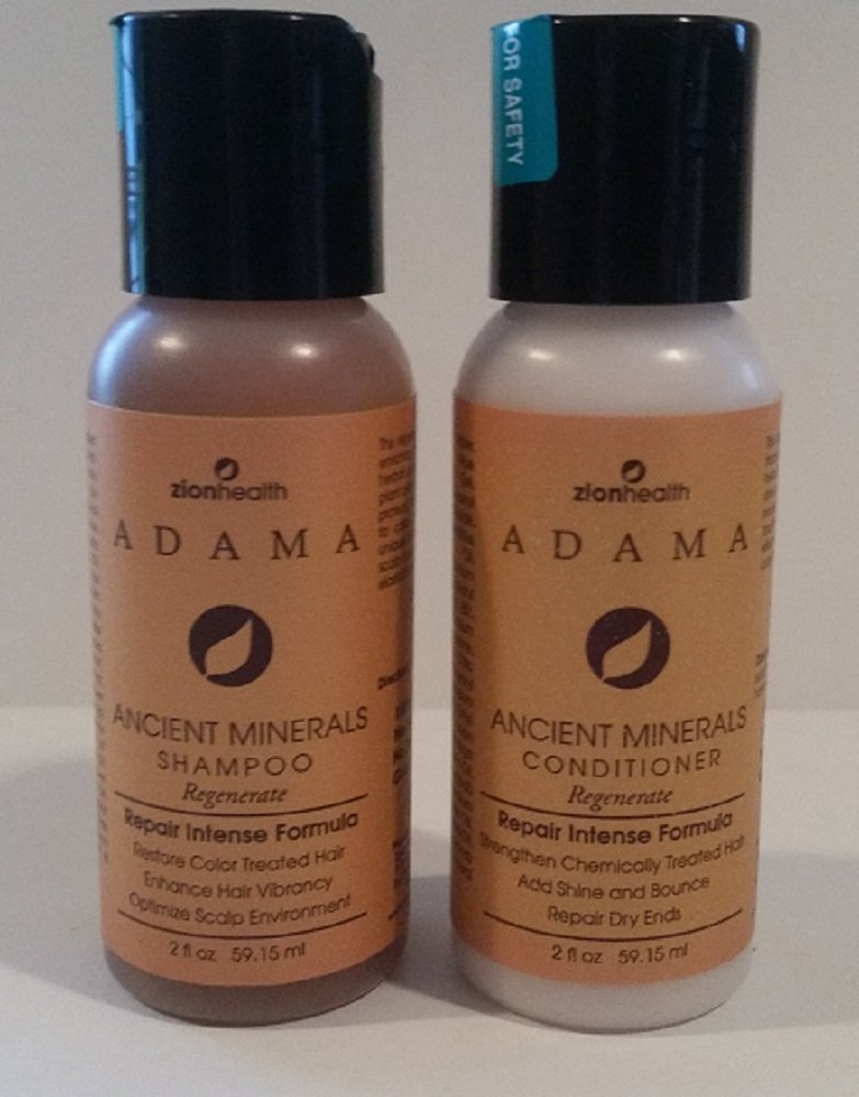 Adama Minerals Regenerate 2 oz travel size - For thinning Hair