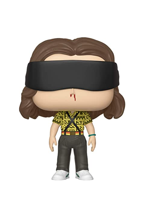 Funko- Pop Vinilo: Stranger Things: Battle Eleven Figura Coleccionable, (39367)