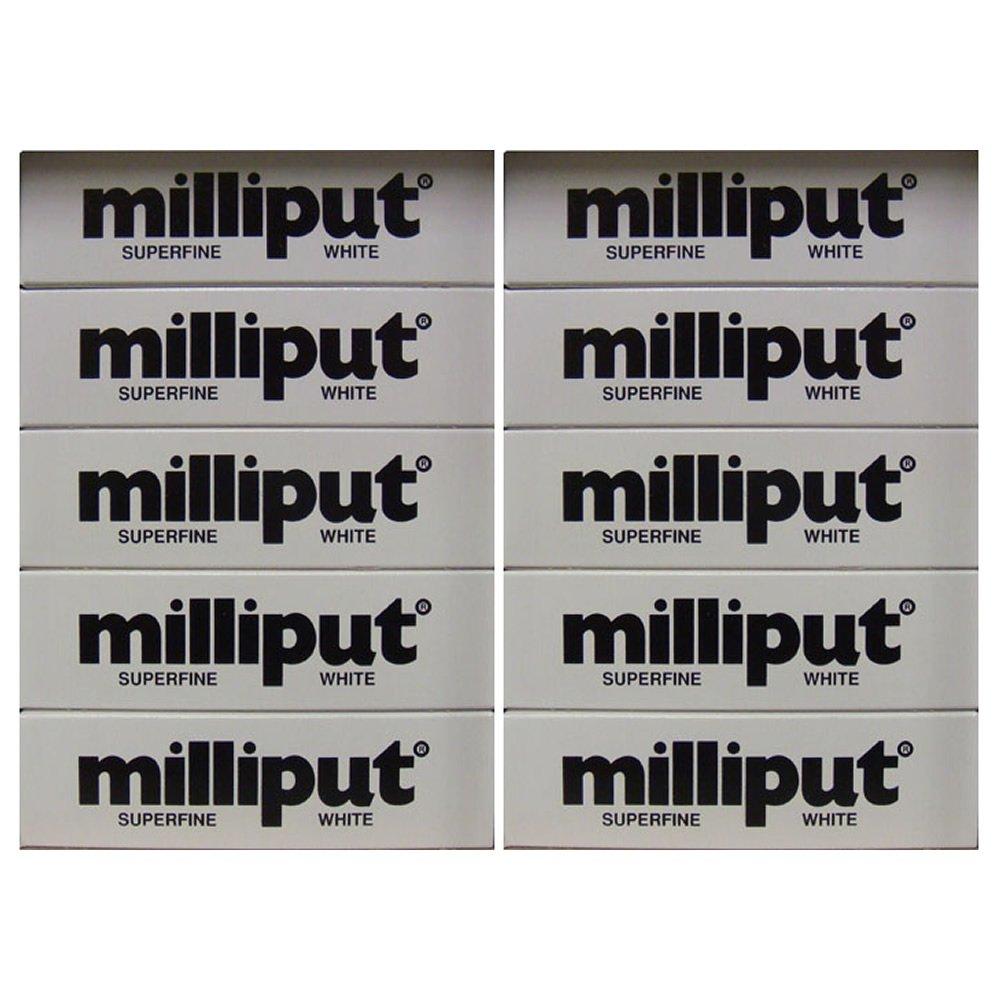 Milliput Epoxy Putty - Superfine Weiß 113.4g Kit - 10pk by Milliput ( MB Fibreglass )