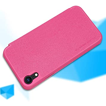 Nillkin Funda para Apple iPhone XR Sparkle Carcasa Tapa Piel ...