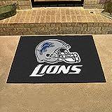 "NFL Novelty Starter Mat NFL Team: Detroit Lions, Size: 2'10"" x 3'8.5"""