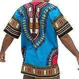 Raan Pah Muang RaanPahMuang Unisex African Bright Dashiki...