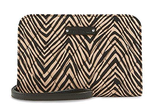 Vera Bradley Zip Around Wristlet/Wallet Clutch in Zebra Print