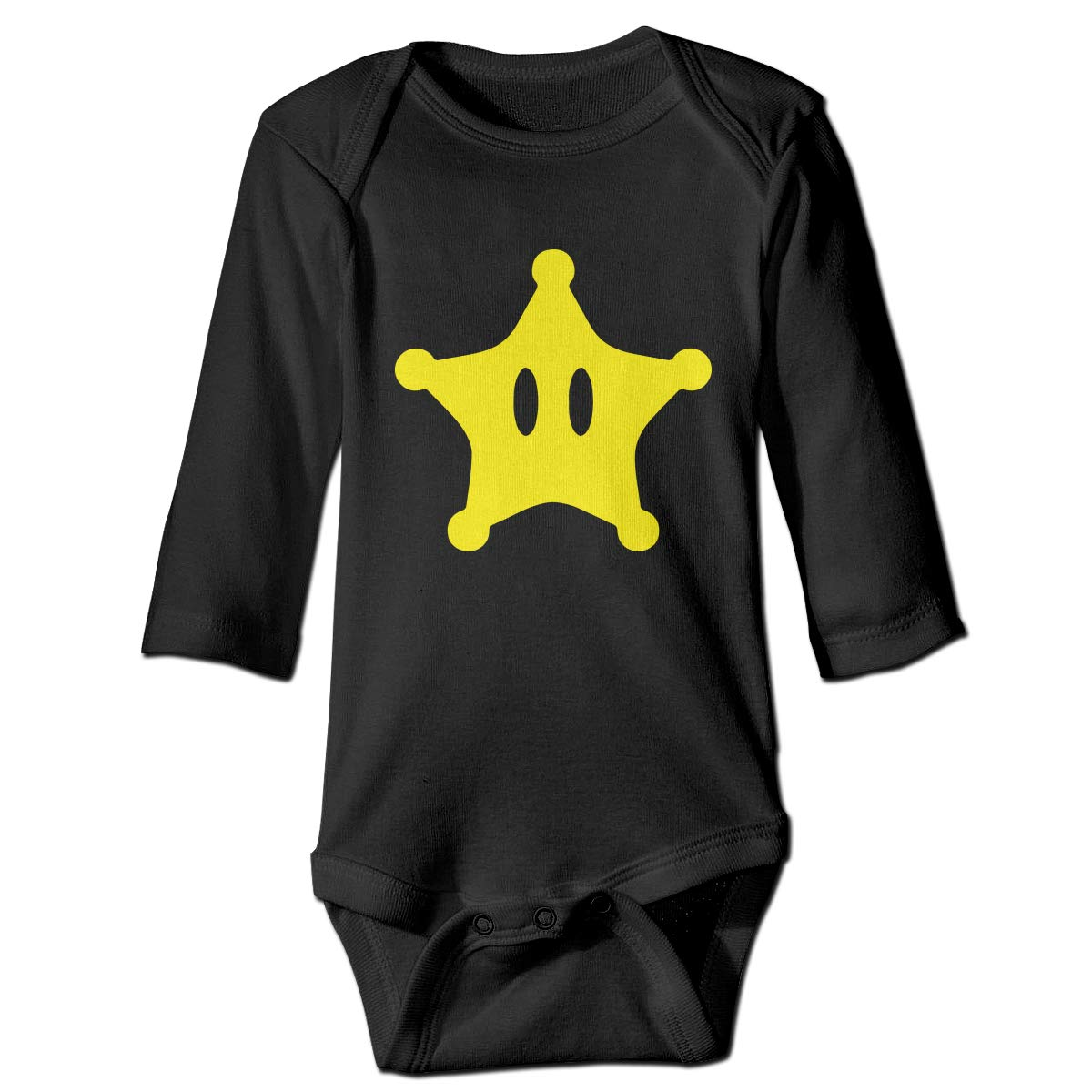 Suit 6-24 Months CZDedgQ99 Newborn Star Long Sleeve Climbing Clothes Pajamas Sleepwear