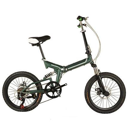 Bicicleta Bicicleta Plegable De 20 Pulgadas Para Niños Adultos Bicicleta De Aluminio De Gama Alta Bicicleta