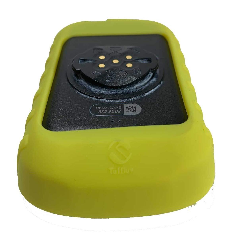 Noir TUFF LUV /Étui de Protection en Silicone et Protecteur d/écran pour Garmin Edge 830 GPS