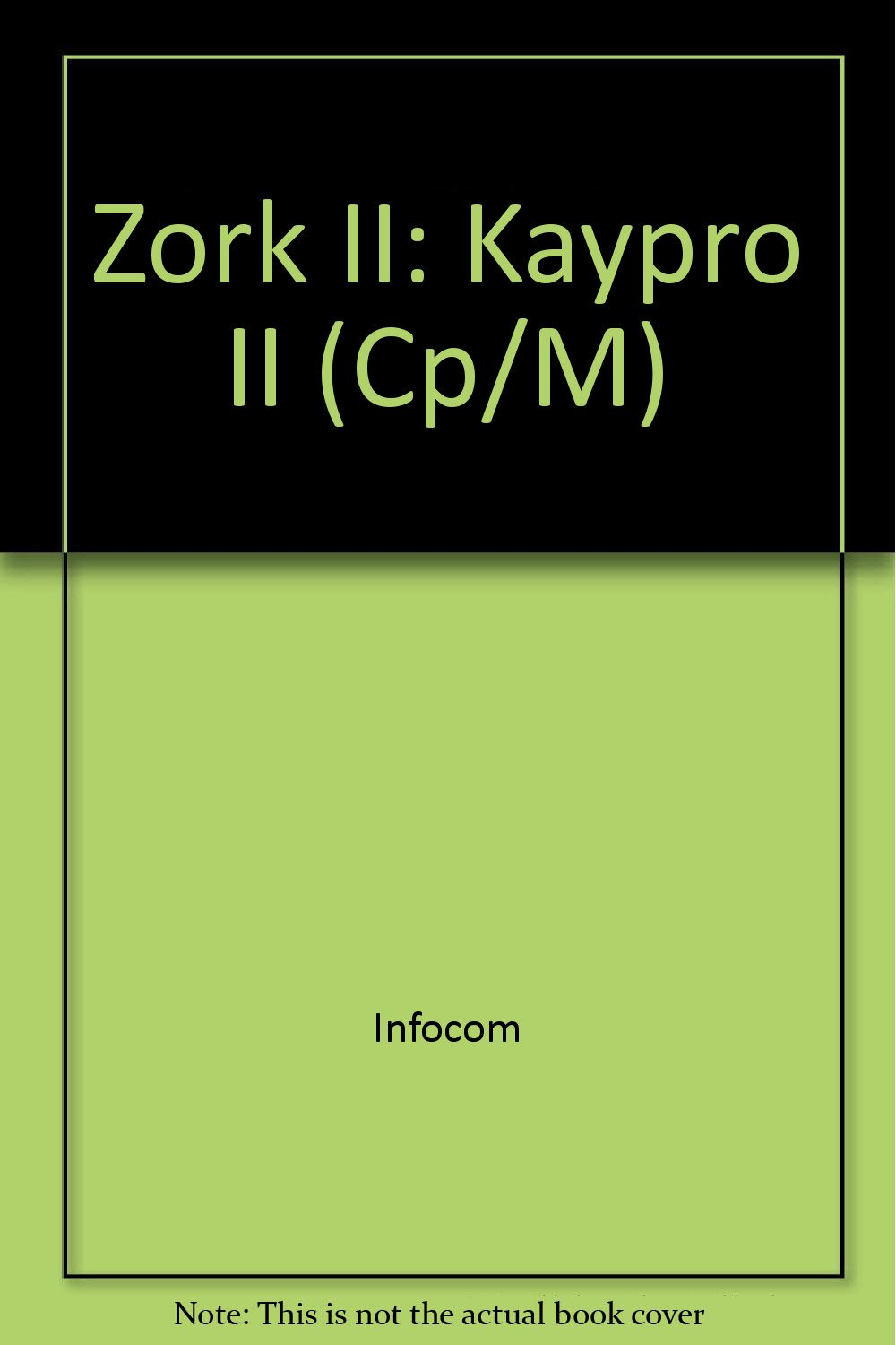 Buy Zork II: Kaypro II (CP/M) Book Online at Low Prices in