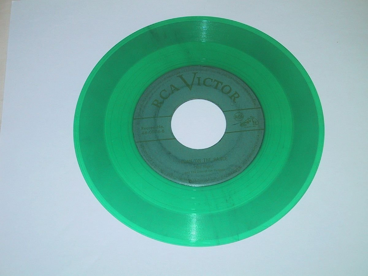 Home On The Range + That Palomino Pal O' Mine [7-inch 45rpm record]