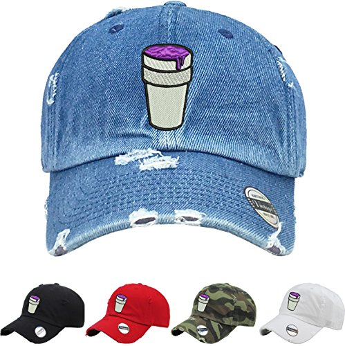 d3bc5eeb47c Allntrends Adult Dad Hat Codeine Cap Cool Vintage Dad Hat Embroidered (Camo)
