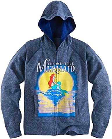 "/""TheLittleMermaid/"" Kid/'s Jacket w//Zipper and  Hoodie 100/% Cotton"
