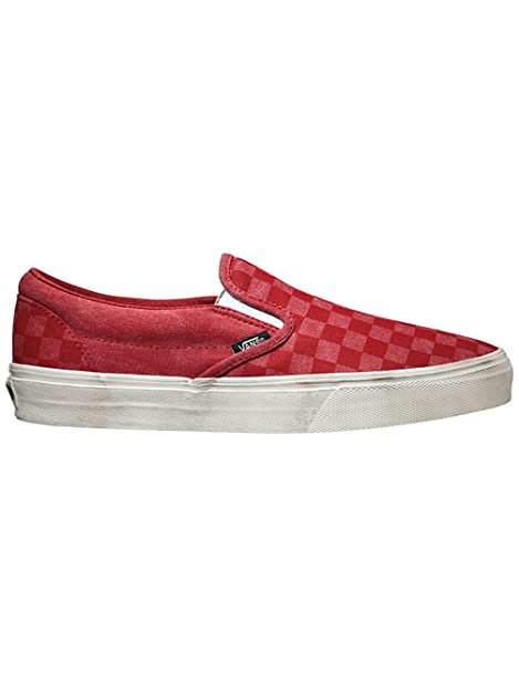 Vans Sneaker Bambine Rosso Red Check/White 38.5 EU