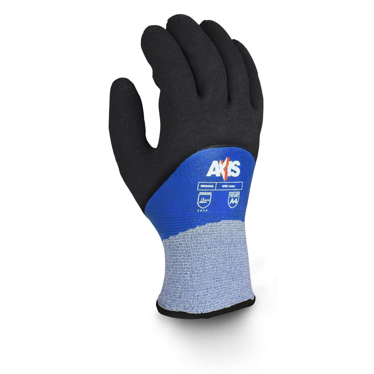 Radians RWG605 Cold Weather Cut Protection Level A4 Glove (Dozen) (XL)