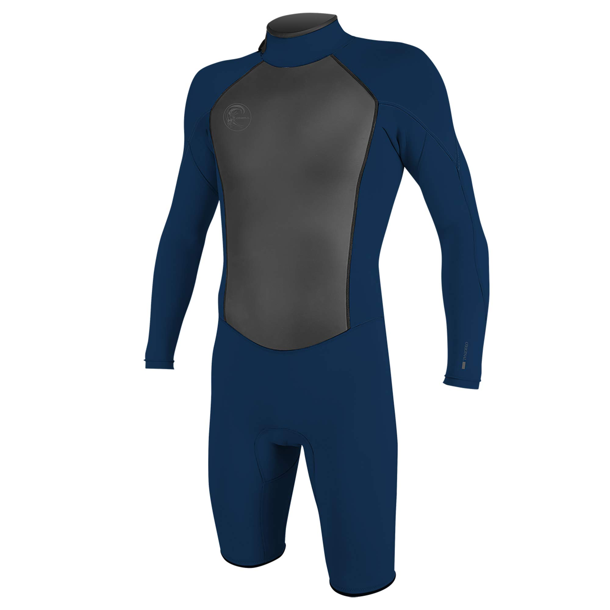 O'Neill Wetsuits Men's Original 2mm Back Zip Long Sleeve Spring Wetsuit, Abyss, Medium