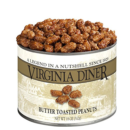 Virginia Diner Peanuts, Butter Toasted, 18-Ounce ()