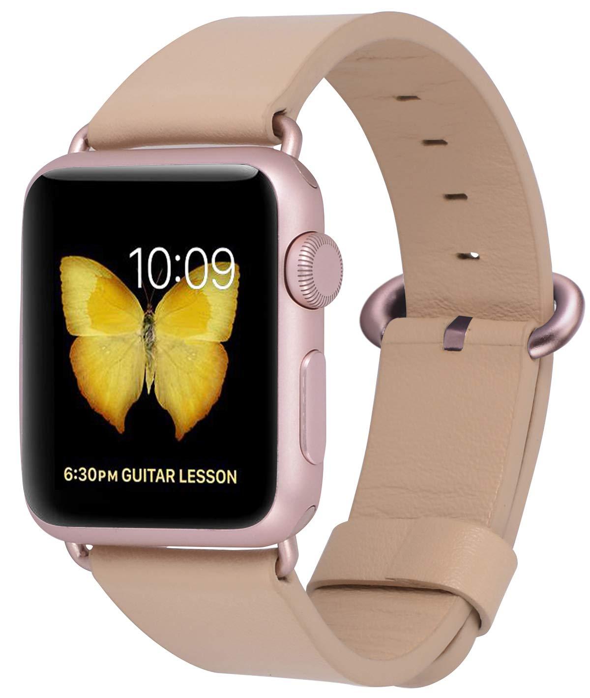 Malla Cuero para Apple Watch (38/40mm) PEAK ZHANG [7JN3WHWL]