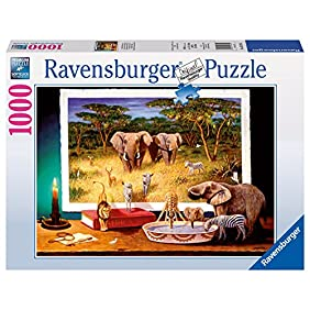 Ravensburger African Visitors at Night Puzzle (1000-Piece)