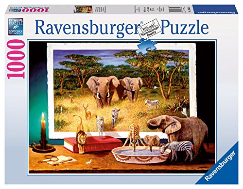Ravensburger African Visitors at Night Puzzle (1000-Piece) (African Puzzle)