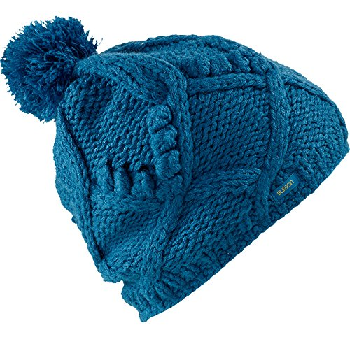 Burton Ski Hats (Burton Women's Chloe Beanie, Pacific, One Size)