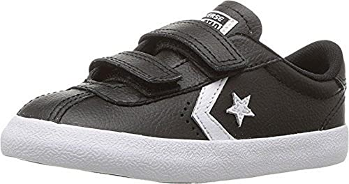 c69999ae60100a Image Unavailable. Image not available for. Colour  Converse Kids  Breakpoint 2V Velcro Shoes in Black Leather ...