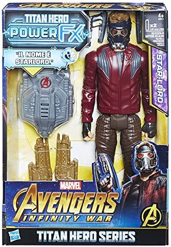 Hasbro Marvel Avengers Infinity War Star-Lord Titan Hero Power FX ...