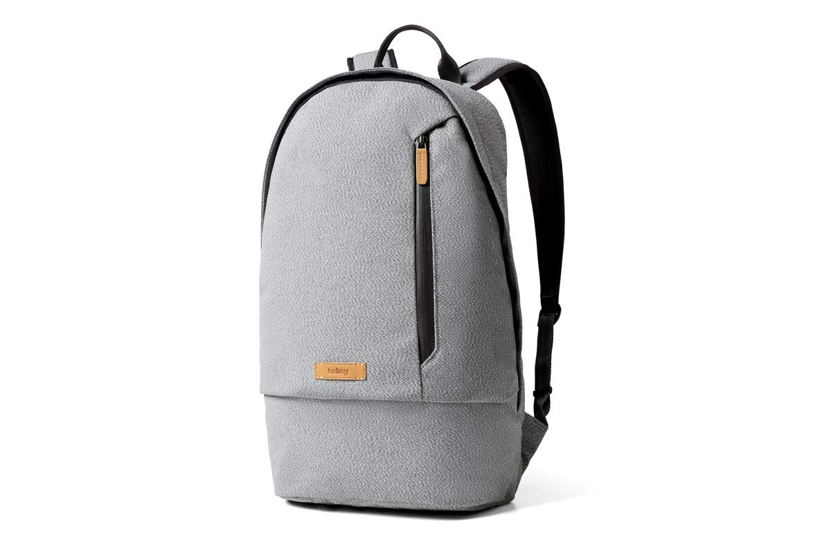 Bellroy Campus Backpack 16 liters, 15 Laptop, Spare Clothes, Wallet, Phone – Ash