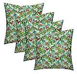 RSH Décor Designer Indoor/Outdoor - 4 Pack Coordinating Pillow Sets (22'' x 22'', Ocean Drive)