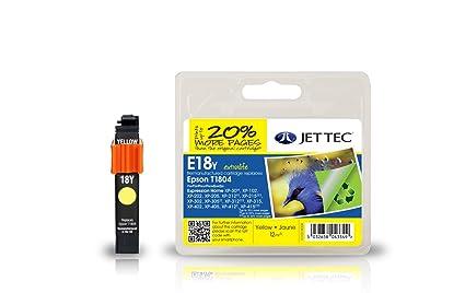 Jet Tec 101E018004 cartucho de tinta Amarillo 12 ml - Cartucho de ...