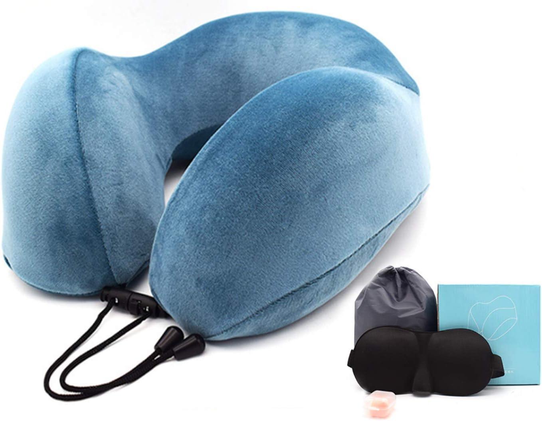 Travel Pillow 100% Pure Memory Foam