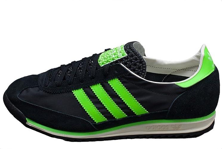 corriente Abrazadera Activamente  Adidas - SL72 - M25726 - Color: Black-Green-White - Size: 11.5:  Amazon.co.uk: Shoes & Bags