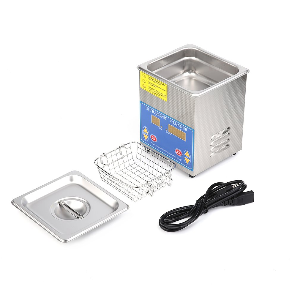 Water-chestnut Ultrasonic Cleaner Commercial and Jewelry Ultrasonic Cleaner With Heater And Digital Control (1.3 L)