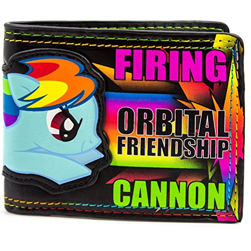 Wallet Bi Friendship Pony My Little ID Multicoloured Cannon Hasbro Fold Card amp; Pqzx1RwEB
