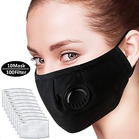 Mascara Anticontaminacion Respirador Carbon Polvo Activado Mascara De Alergia