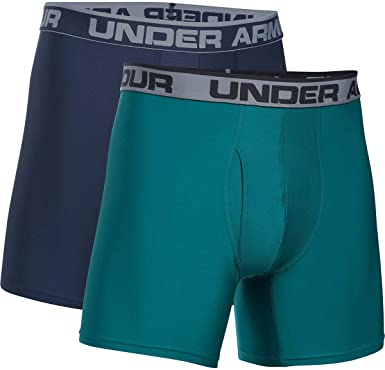 2 Pack Under Armour Mens O Series 6 Boxerjock