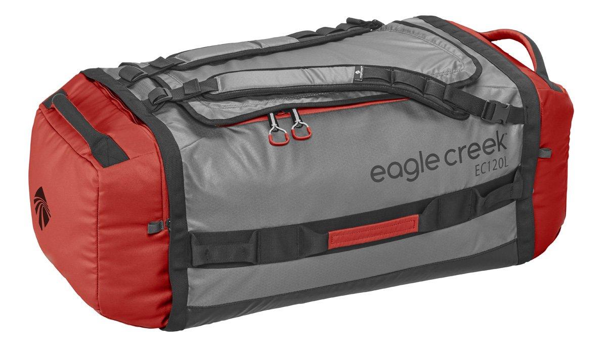 Wasserabweisender Backpacker Cargo Hauler Duffel ultraleichte Reisetasche mit Rucksackträgern, 120 L