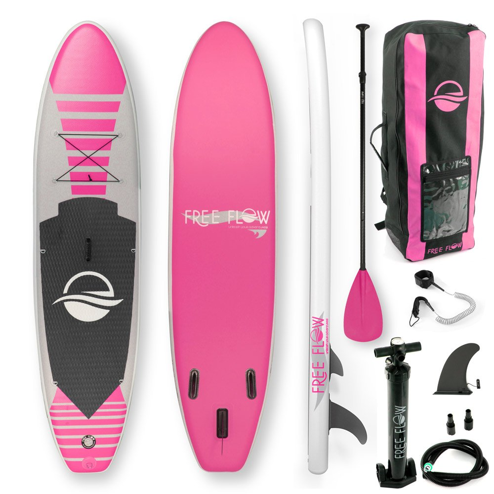 Bottom Fin for Paddling Wide Stance Youth /& Adult Sound Around Non-Slip Deck 6 Inches Thick Surf Control SereneLife Premium Inflatable Stand Up Paddle Board Dropship SLSUPB145 with SUP Accessories /& Carrying Storage Bag