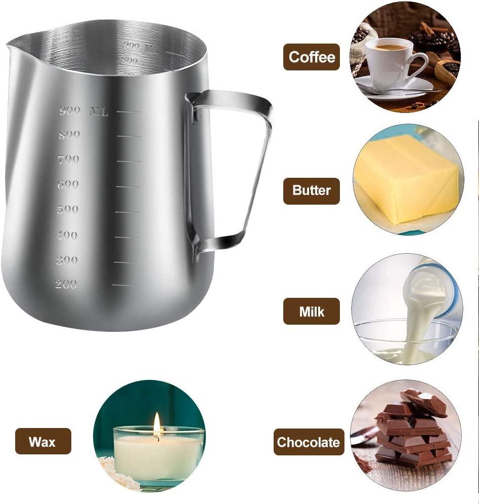 DIY Candles Craft Tools Includes 1pc Candle Make Pouring Pot YAMYO Candle Making Kit 50pcs Candle Wicks Sticker and 2pcs 3-Hole Candle Wicks Holder 50pcs Candle Wicks