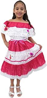 Ethnic Identity Leos Imports (Tm) Mexican Flor Dress for Girls  sc 1 st  Amazon.com & Amazon.com: Ethnic Ribbons Dress Red Blue and White Cuban Domincan ...