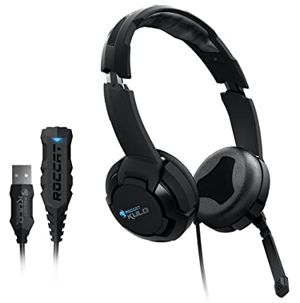 ROCCAT KULO Virtual 7.1 Surround Sound USB Gaming Headset, Black