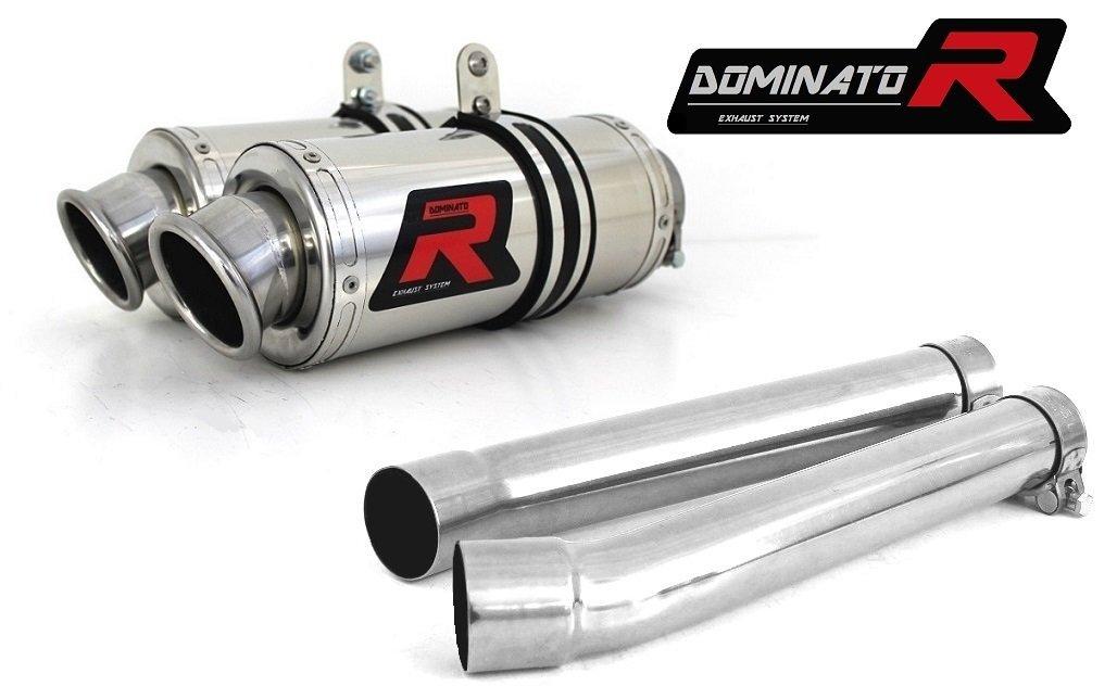 OVAL DB KILLER Dominator Exhaust Silencieux /échappement YAMAHA TDM 900 02-09