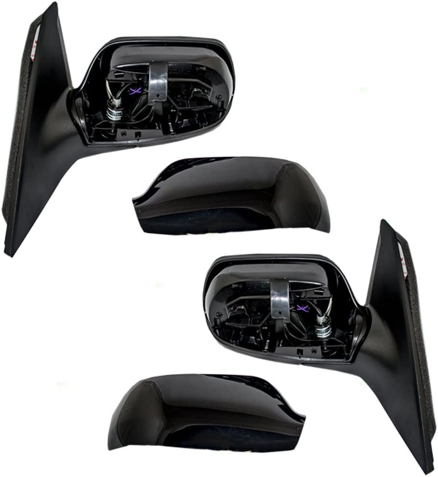 Passengers Power Side View Mirror Heated Replacement for Mazda 3 Mazda3 BBM56912ZL AUTOANDART