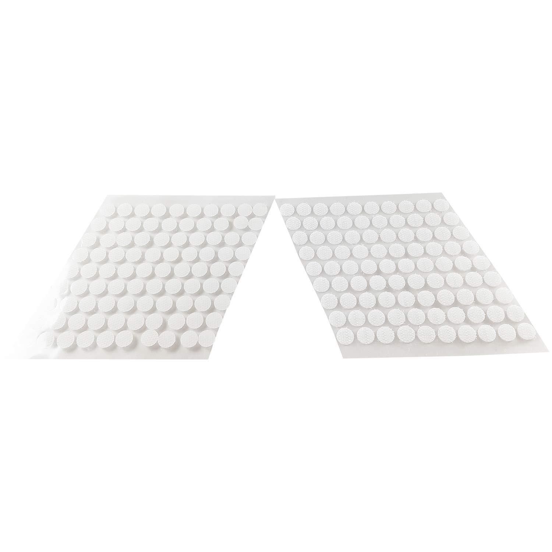 ✮MARQUE FRANCAISE✮-CZ Store/®-scratch autocollant 900PCS ✮✮GARANTIE A VIE✮✮-velcro autocollant pastille TAILLE 10MM velcro double face pour decoration//cadres//photos//couture-velcro autocollant blanc