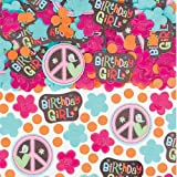 Amscan - Hippie Chick Birthday Confetti - Standard