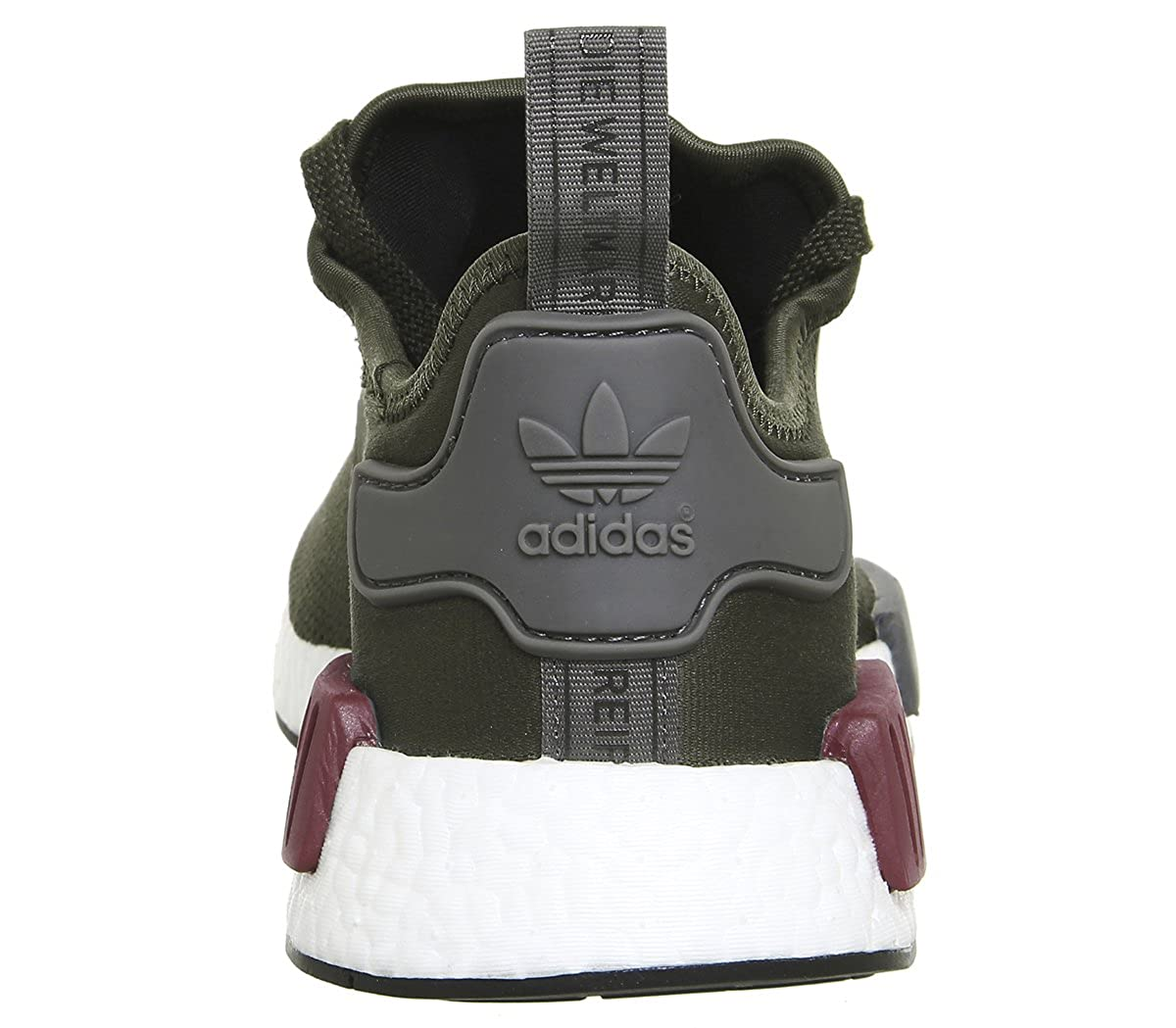 Adidas Maroon Damen NMD_r1 Trail Laufschuhe, Grün - Khaki Maroon Adidas Exclusive - Größe: 38 EU - 1344f5