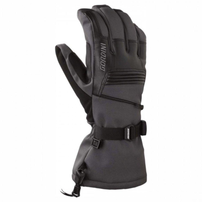 Gordini Men's GTX Storm Tropper II Core Glove (Gunmetal/Black, XX-Large)