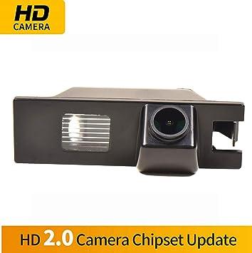 HD Visión Nocturna Impermeable CCD Revertir de Copia de Seguridad ...